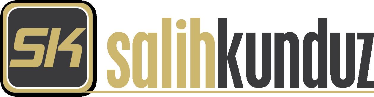 Salihkunduz.net logosu: İsmimin baş harfleri olan S ve K harfleri öne çıkarılarak, görsele marka logosu görünümü kazandırıldı. Salih Kunduz yazısında iki farklı cam rengiyle karışık bir renk düzeni kullanıldı. Logonun arka planında ise gradient renk düzenini tercih ettik.