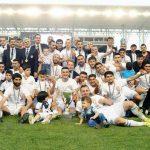 21 yıl aradan sonra gelen şampiyonluk. Tofik Behramov stadyumu
